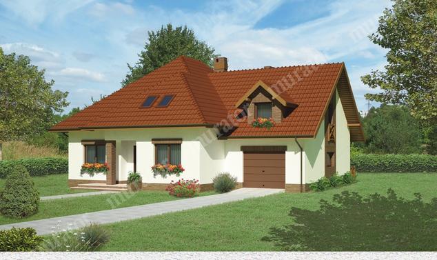 Projekt domu:  Murator C232   – Dom nad potokiem