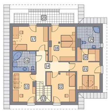 WARIANT RZUTU POW. 0,0 m²